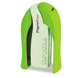 Accentra - 1453 - inSHAPE 15 Compact Stapler, 15-Sheet Capacity, Green