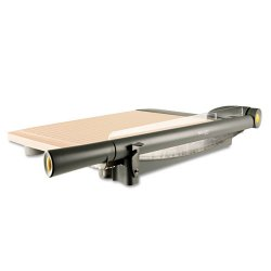 Acme United - 15107 - Acme United TrimAir Wood Guillotine Paper Trimmer - Cuts 30Sheet - Wood - Titanium, Walnut