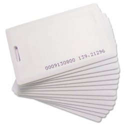 Acroprint Time Recorder - 140126000 - Acroprint Time Attendance Proximity Badges - 15 / Pack - White