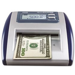 Accubanker - D500 - Counterfeit Detector, Digital, 1 Note/Sec