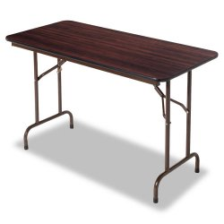 Alera - ALEFT724824WA - Folding Table, Rectangular, 48w x 24d x 29h, Walnut