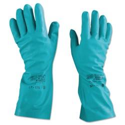 Ansell-Edmont - 012-37-175-8 - Sol-Vex Nitrile Gloves, Size 8
