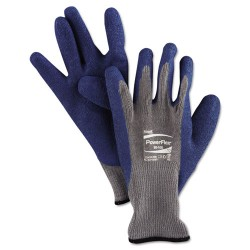 Ansell-Edmont - 012-80-100-10 - PowerFlex Gloves, Blue/Gray, Size 10, 12 Pairs/Pack