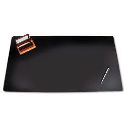 Artistic - 5100-8-1 - Sagamore Desk Pad w/Decorative Stitching, 38 x 24, Black