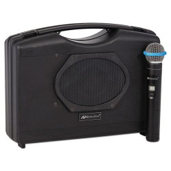 AmpliVox - SW223A - 16 Channel Wireless Portable Sound System with 300 ft. Wireless Range