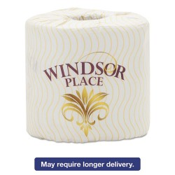 Atlas Paper Mills - 317 - Windsor Place Premium Bathroom Tissue, 2-Ply, 4 1/2 x 4, 500/Roll, 80/Ctn