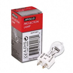 Apollo - APOADYS - Replacement Bulb for Buhl/Bell&Howell/Eiki/Da-lite/3M Projectors, 120 Volt