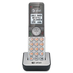 AT&T / VTech - CL80101 - AT&T CL80101 Cordless Handset - Cordless - Silver, Black