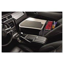 AutoExec - 10005 - AutoExec GripMaster 02 Efficiency Auto Desk - 11 Height x 25.3 Width x 17 Depth - Vehicle Mount - Dark Gray Body - 1Each