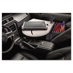 AutoExec - 39000 - AutoExec RoadMaster 03 Laptop Auto Desk - 11 Height x 21.3 Width x 15.3 Depth - Vehicle Mount - Dark Gray - 1Each