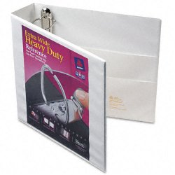 Avery Dennison - 01320 - 2 Heavy Duty Binder, White, 540-Sheet Capacity