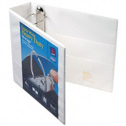 Avery Dennison - 01321 - 3 Heavy Duty Binder, White, 670-Sheet Capacity