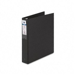 Avery Dennison - 04401 - 1-1/2 Economy Binder, Black, 275-Sheet Capacity