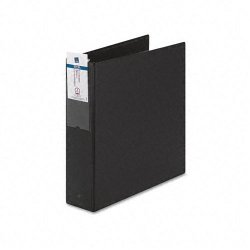 Avery Dennison - 04501 - 2 Economy Binder, Black, 375-Sheet Capacity