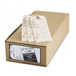 Avery Dennison - 15030 - Repair Tags, 5 1/4 x 2 5/8, Manila, 500/Box