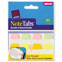 Avery Dennison - 16183 - Write-On Big Tab Plastic Dividers, 5-Tab, Letter