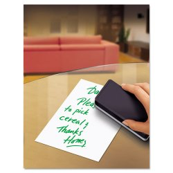 Avery Dennison - 24304 - Peel & Stick Dry Erase Sheets, 10 x 10, White, 5/Pack
