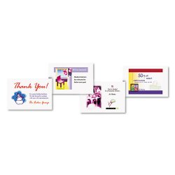 Avery Dennison - 5689 - Postcards for Laser Printers, 4 1/4 x 5 1/2, Uncoated White, 4/Sheet, 200/Box