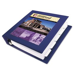 "Avery Dennison - 68038 - Framed View Heavy-Duty Binder w/Locking 1-Touch EZD Rings, 3"" Cap, Navy Blue"