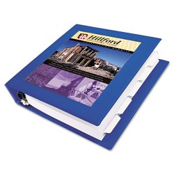 "Avery Dennison - 68039 - Framed View Heavy-Duty Binder w/Locking 1-Touch EZD Rings, 3"" Cap, Pacific Blue"