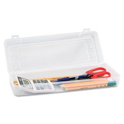 Advantus - AVT-67033 - Stretch Art Box, Polypropylene, Snap Shut, Clear