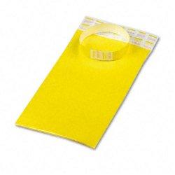 Advantus - 75444 - Advantus Tyvek Wristbands - Yellow - Tyvek - 100 / Pack