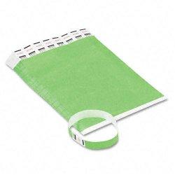 Advantus - 75511 - Advantus 500-Pack Tyvek Colored Wrist Bands - Green - 500 / Pack