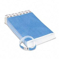 Advantus - 75513 - Advantus 500-Pack Tyvek Colored Wrist Bands - 3/4 Width x 10 Length - Rectangle - Blue - Tyvek - 500 / Pack