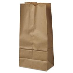 Duro Bag - 18416 - #16 Paper Grocery Bag, 40lb Kraft, Standard 7 3/4 x 4 13/16 x 16, 500 bags