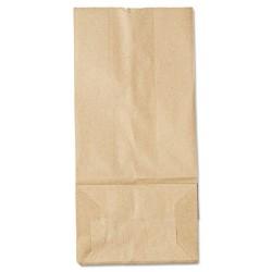 Duro Bag - 18405 - #5 Paper Grocery Bag, 35lb Kraft, Standard 5 1/4 x 3 7/16 x 10 15/16, 500 bags