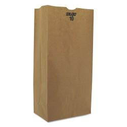 Duro Bag - 30910 - #10 Paper Grocery, 57lb Kraft, Extra-Heavy-Duty 6 5/16x4 3/16 x13 3/8, 500 bags