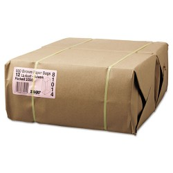 Duro Bag - 30912 - #12 Paper Grocery, 57lb Kraft, Extra-Heavy-Duty 7 1/16x4 1/2 x13 3/4, 500 bags