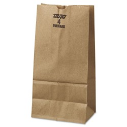 Duro Bag - 30904 - #4 Paper Grocery Bag, 50lb Kraft, Extra-Heavy-Duty 5 x 3 1/8 x 9 3/4, 500 bags