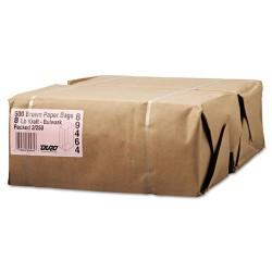 Duro Bag - 30908 - #8 Paper Grocery, 57lb Kraft, Extra-Heavy-Duty 6 1/8x4 1/6 x12 7/16, 500 bags