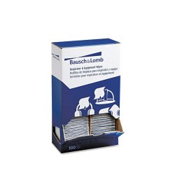 Bausch & Lomb - 8595 - Bausch & Lomb Sight Savers XL Equipment Wipes - Wipe - 100 / Box