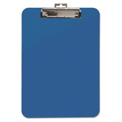 Baumgartens - 61623 - Unbreakable Recycled Clipboard, 1/4 Capacity, 8 1/2 x 11, Blue