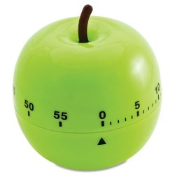 Baumgartens - 77056 - Baumgartens Schoolhouse Timer - 1 Hour - For Office, Classroom - Green