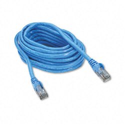 Belkin / Linksys - A3L980-14-BLU-S - Belkin Cat.6 Patch Cable - RJ-45 Male Network - RJ-45 Male Network - 14ft - Blue