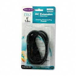 Belkin / Linksys - F3A102-06 - Belkin Power Extension Cable - 6ft