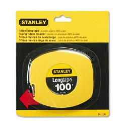 Stanley Bostitch - 680-34-106 - Long Tape Measure, 1/8 Graduations, 100ft, Yellow