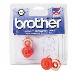 Brother International - 3010 - Brother 3010 Two Spool Lift-off Correction Tape - 2 / Pack