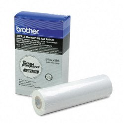 Brother International - 6890 - Brother Therma Plus Thermal Paper - 8 1/2 x 1176 - 2 / Box - White