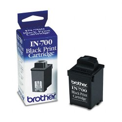Brother International - IN700 - Brother IN700 Ink Cartridge - Inkjet - 1000 Pages - Black - 1 Each