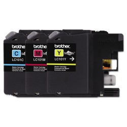 Brother International - LC1013PKS - Brother Genuine Innobella LC1013PKS Ink Cartridge - Inkjet - Standard Yield - 300 Pages - Cyan, Magenta, Yellow