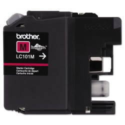 Brother International - LC101M - Brother Genuine Innobella LC101M Magenta Ink Cartridge - Inkjet - Standard Yield - 300 Pages - Magenta - 1 Each