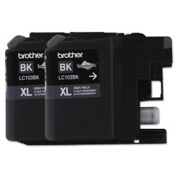 Brother International - LC1032PKS - Brother Innobella LC1032PKS Original Ink Cartridge - Inkjet - High Yield - 600 Pages - Black