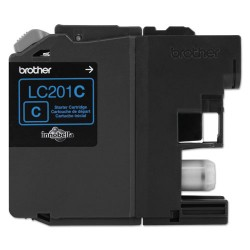 Brother International - LC201C - Brother LC201C - Cyan - original - ink cartridge - for Brother MFC-J460DW, MFC-J480DW, MFC-J485DW, MFC-J680DW, MFC-J880DW, MFC-J885DW