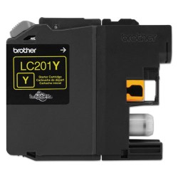 Brother International - LC201Y - Brother LC201Y - Yellow - original - ink cartridge - for Brother MFC-J460DW, MFC-J480DW, MFC-J485DW, MFC-J680DW, MFC-J880DW, MFC-J885DW