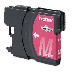 Brother International - LC61M - Brother Magenta Ink Cartridge - Inkjet - Standard Yield - 325 Page - 1 Each