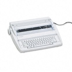 "Brother International - ML100 - Brother ML-100 Electronic Typewriter - Daisy Wheel - 12 cps - 9"" Print Width"
